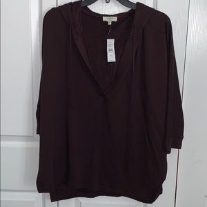 BNWT Loft Outlet Lounge Hoodie
